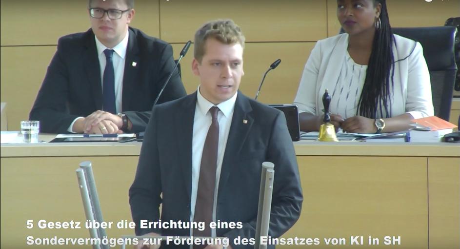 Einsatz Künstlicher Intelligenz in Schleswig-Holstein fördern
