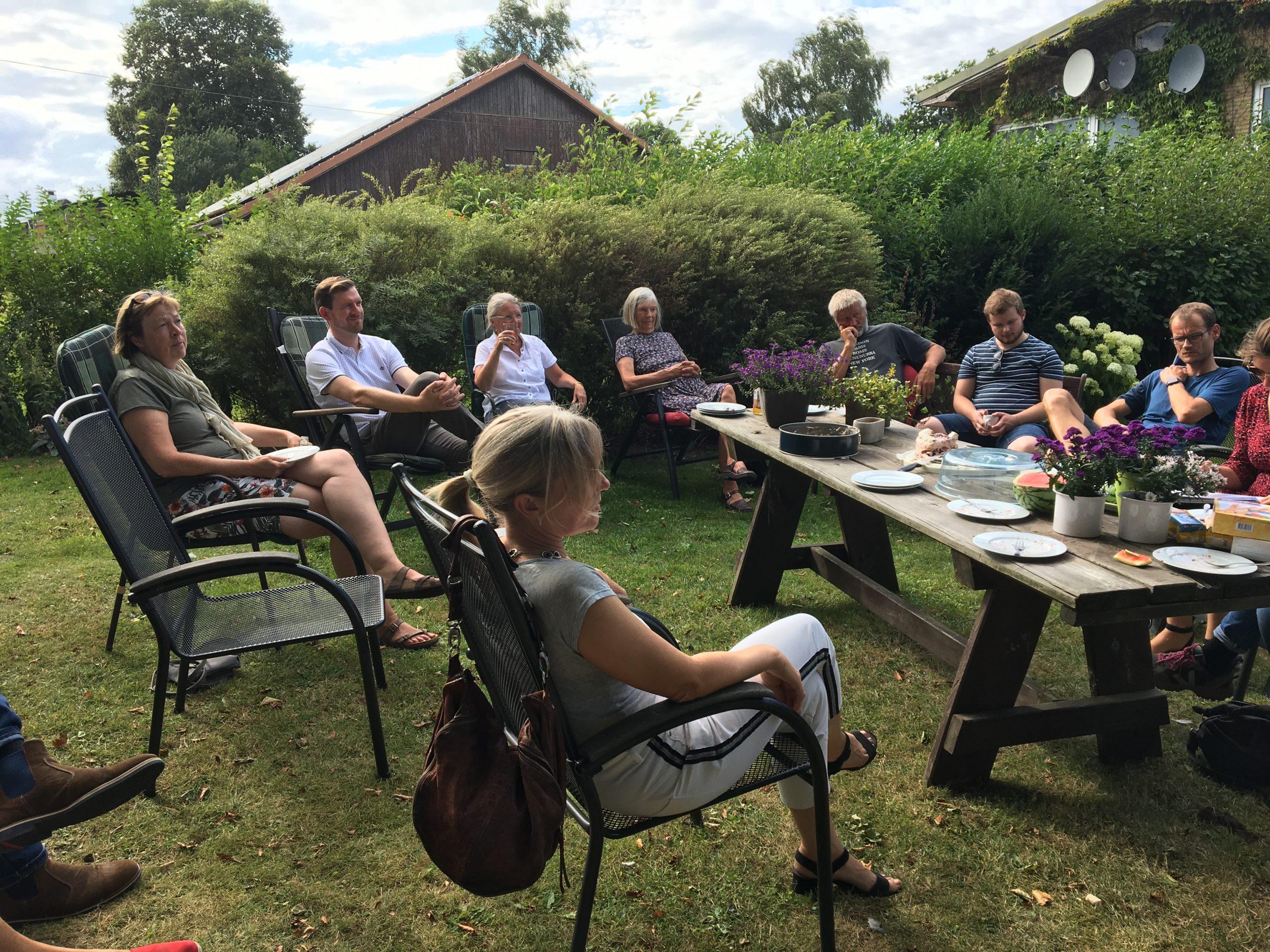 Neumitgliedertreffen des Kreisverbandes Schleswig-Flensburg