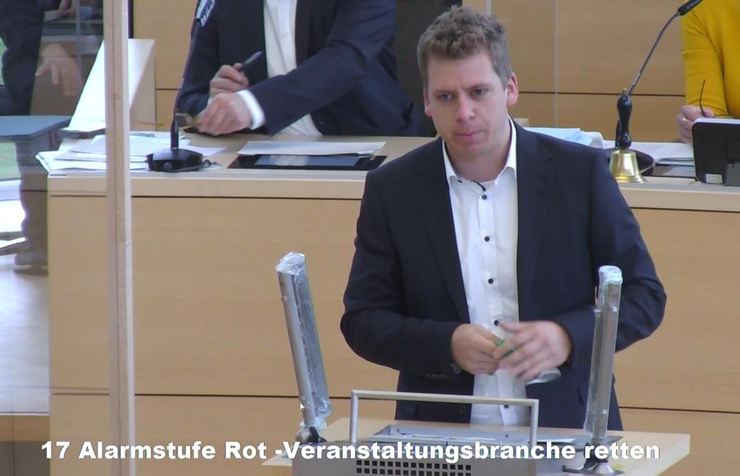 Alarmstufe Rot- Veranstaltungsbranche Retten!