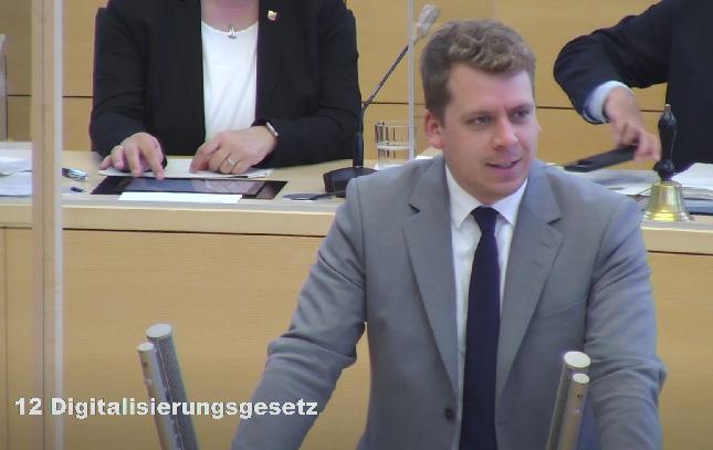 Das Digitalisierungsgesetz ist Meilenstein für eine sinnvolle, wertegeleitete und transparente digitale Transformation in Schleswig-Holstein